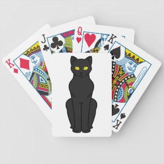 Korn Ja Cat Cartoon Bicycle Playing Cards