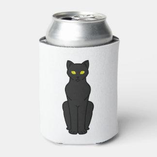 Korn Ja Cat Cartoon Can Cooler