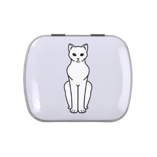 Korn Ja Cat Cartoon Candy Tins