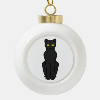 Korn Ja Cat Cartoon Ceramic Ball Decoration