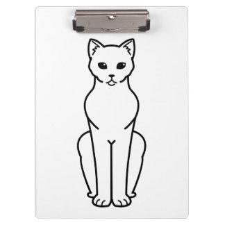 Korn Ja Cat Cartoon Clipboards