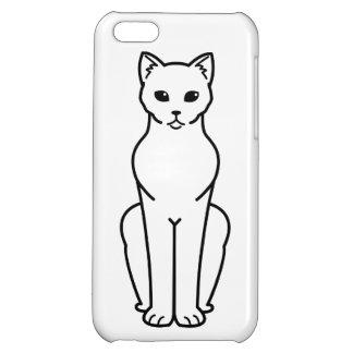 Korn Ja Cat Cartoon Cover For iPhone 5C