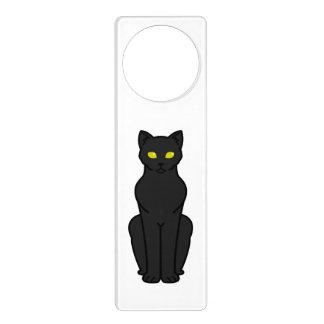 Korn Ja Cat Cartoon Door Hanger