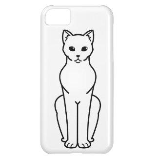Korn Ja Cat Cartoon iPhone 5C Case