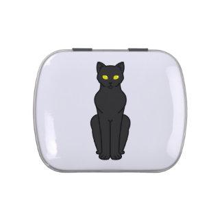 Korn Ja Cat Cartoon Jelly Belly Tin