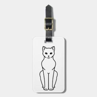 Korn Ja Cat Cartoon Luggage Tag