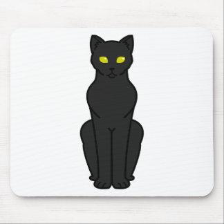 Korn Ja Cat Cartoon Mouse Pad