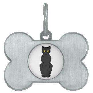 Korn Ja Cat Cartoon Pet ID Tag