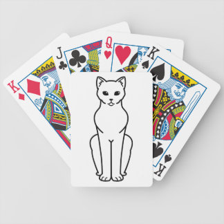 Korn Ja Cat Cartoon Poker Deck