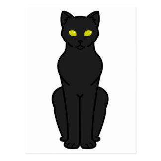 Korn Ja Cat Cartoon Postcard
