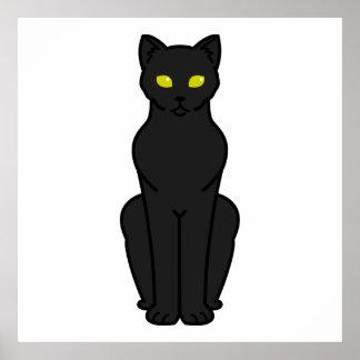 Korn Ja Cat Cartoon Poster