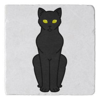 Korn Ja Cat Cartoon Trivet