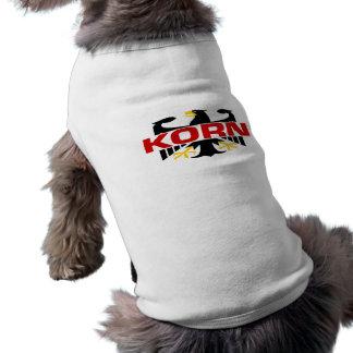 Korn Surname Pet Shirt