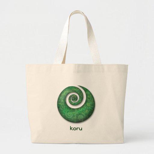 koru canvas bags