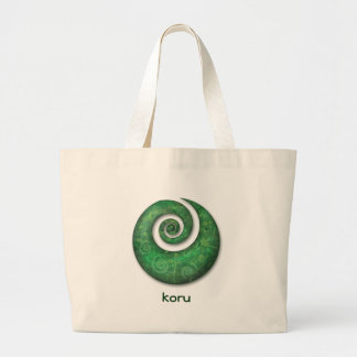 koru large tote bag