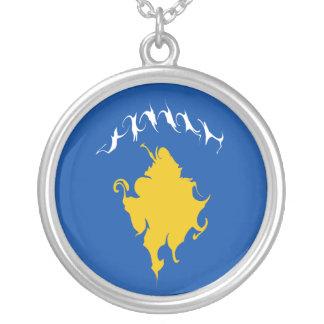 Kosovo Gnarly Flag Custom Jewelry