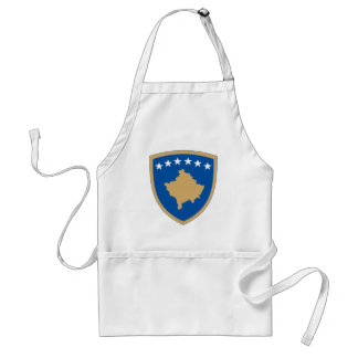 Kosovo Official Coat Of Arms Heraldry Symbol Standard Apron