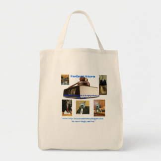 Kourt is in Session with the Kangaroo Kourts Tote Bag