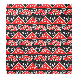 Kowhaiwhai Traditional Maori Koru Pattern Kerchiefs
