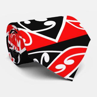 Kowhaiwhai Traditional Maori Koru Pattern Tie