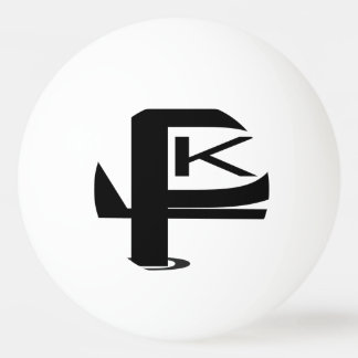KPL logo One Star Ping Pong Ball.