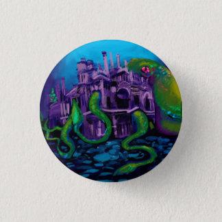 Kraken awakens 3 cm round badge