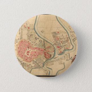 Krakow Poland 1755 6 Cm Round Badge