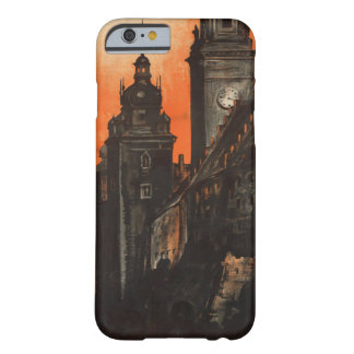 Krakow Poland - Vintage Polish Travel Poster Barely There iPhone 6 Case