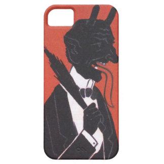 Krampus In Tuxedo iPhone 5 Cover