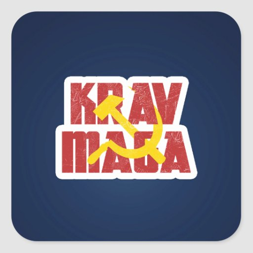 Krav Maga Russia Soviet Union Stickers