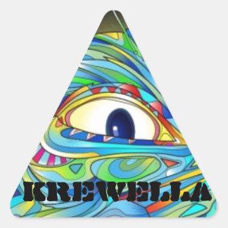 Krewella Illuminati sticker pack