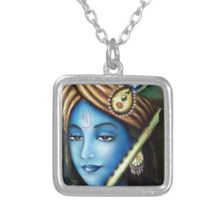 Krishan Silver Plated Necklace
