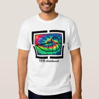 KRN skateboards design series tie dye T Shirt