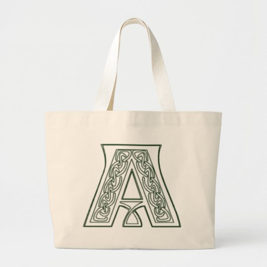 KRW - A - Celtic Monogrammed Tote Bag
