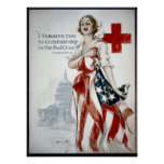 KRW American Red Cross Print