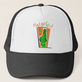 KRW Mardi Gras Gator Trucker Hat