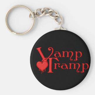 KRW Vamp Tramp Blood Dripping Heart Key Ring