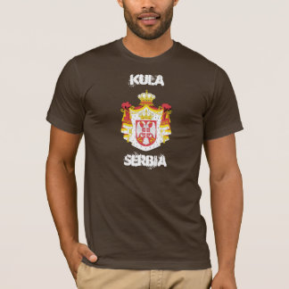 Kula, Serbia with coat of arms T-Shirt