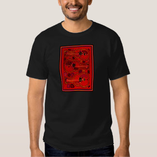 Kuna Indian Guitars T Shirts