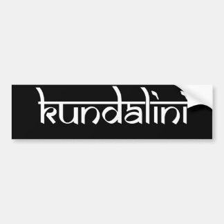 Kundalini Design on Sanskrit Style Bumper Stickers