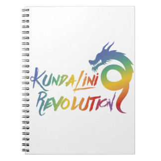 Kundalini Revolution Rainbow Dragon Notebook
