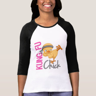 Kung Fu Chick Tees