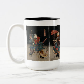 Kunisada Actors Two-Tone Coffee Mug