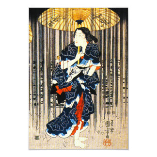 Kuniyoshi Three Women With Umbrellas Invitations