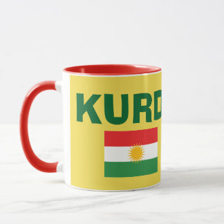 Kurdistan Flag Coffee Mug