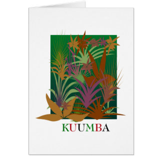 KUUMBA Kwanzaa Holiday Notecards Card