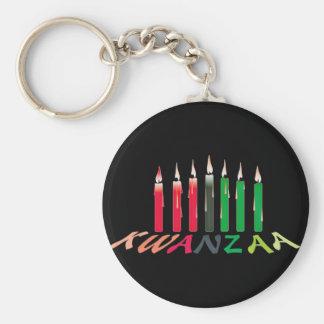 Kwanzaa Candles Key Ring