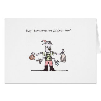Kwanzeenmasgivingkuhtime! Card