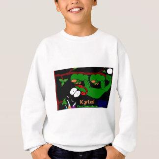 Kyle The Chameleon! In Celtic Green Sweatshirt