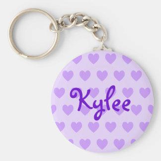Kylee in Purple Key Ring